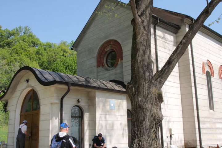 Iron Gate Cycling Route - Trinity Monastery, Manastirica (SER)